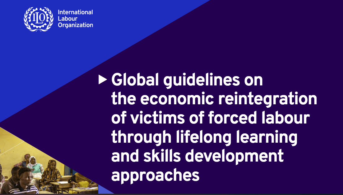 Global Guidelines on the Economic Reintegration of Victims of Forced Labor