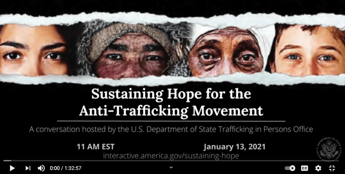 Sustaining Hope for the Anti-Trafficking Movement