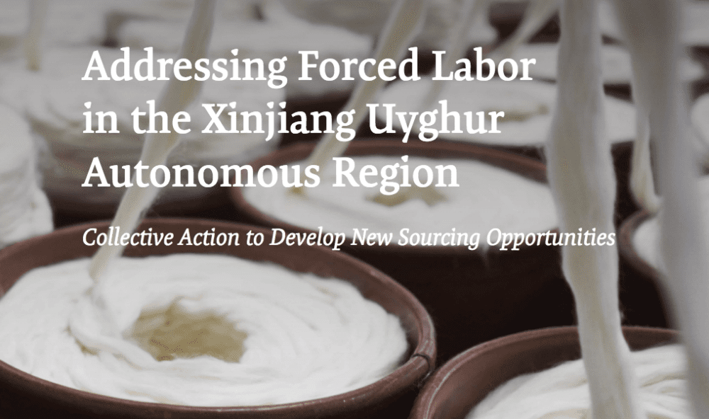 Xinjiang forced labor report cover